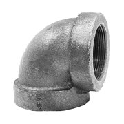 "Elbow,  90°,  FNPT,  1/2"" Pipe Size (Fittings)"