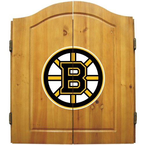 Imperial International NHL Dart Cabinet, Boston Bruins