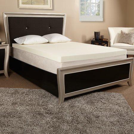 Luxury Solutions 2'' Memory Foam Mattress (Luxury Mattress Topper)