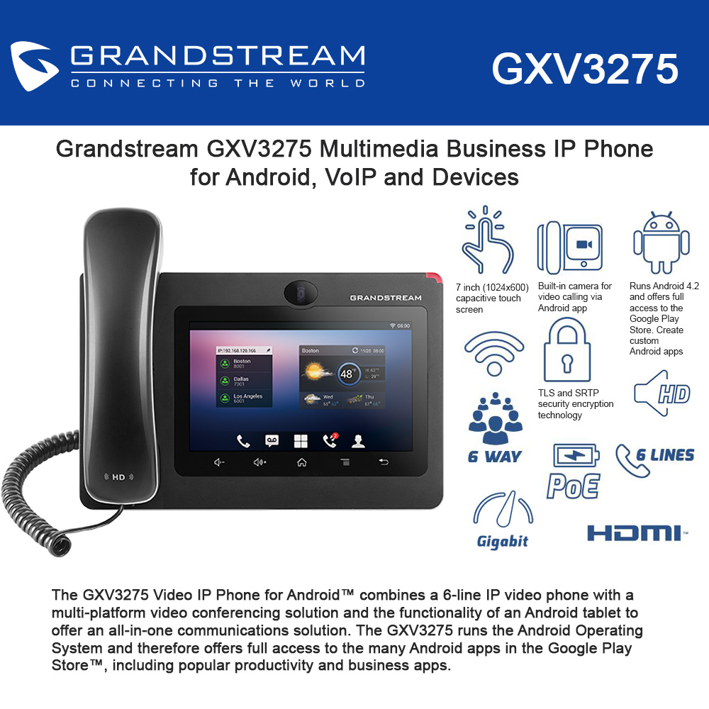Grandstream SIP phone GXV3275