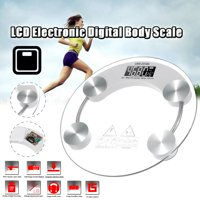 """10"""" 180KG/400LB LCD Display G-type Sensor Body Health Scale Bathroom Scales Weigher Automatic ON/OFF 180KG Load Bearing"""
