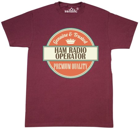 Inktastic Ham Radio Operator Funny Gift Idea T-Shirt Retired Occupations Job Hws
