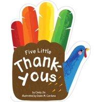 Five Little Thank-Yous (Board book)