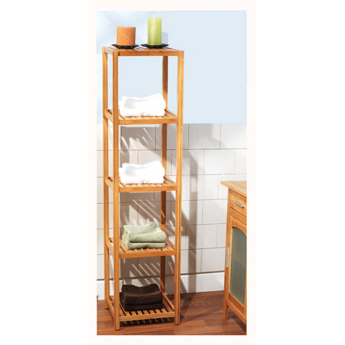 Bamboo 5-Tier Vertical Shelf  23035NAT