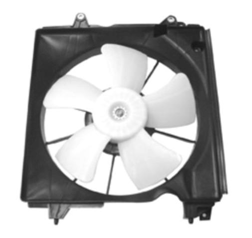 NEW LEFT DRIVER SIDE ENGINE COOLING FAN 2013 ASSEMBLY FITS ACURA ILX 19030R1AA02