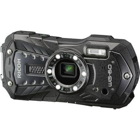 Ricoh WG-60 Waterproof Digital Camera, 2.7
