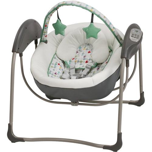 Graco Glider Lite Baby Swing, Lambert by Graco