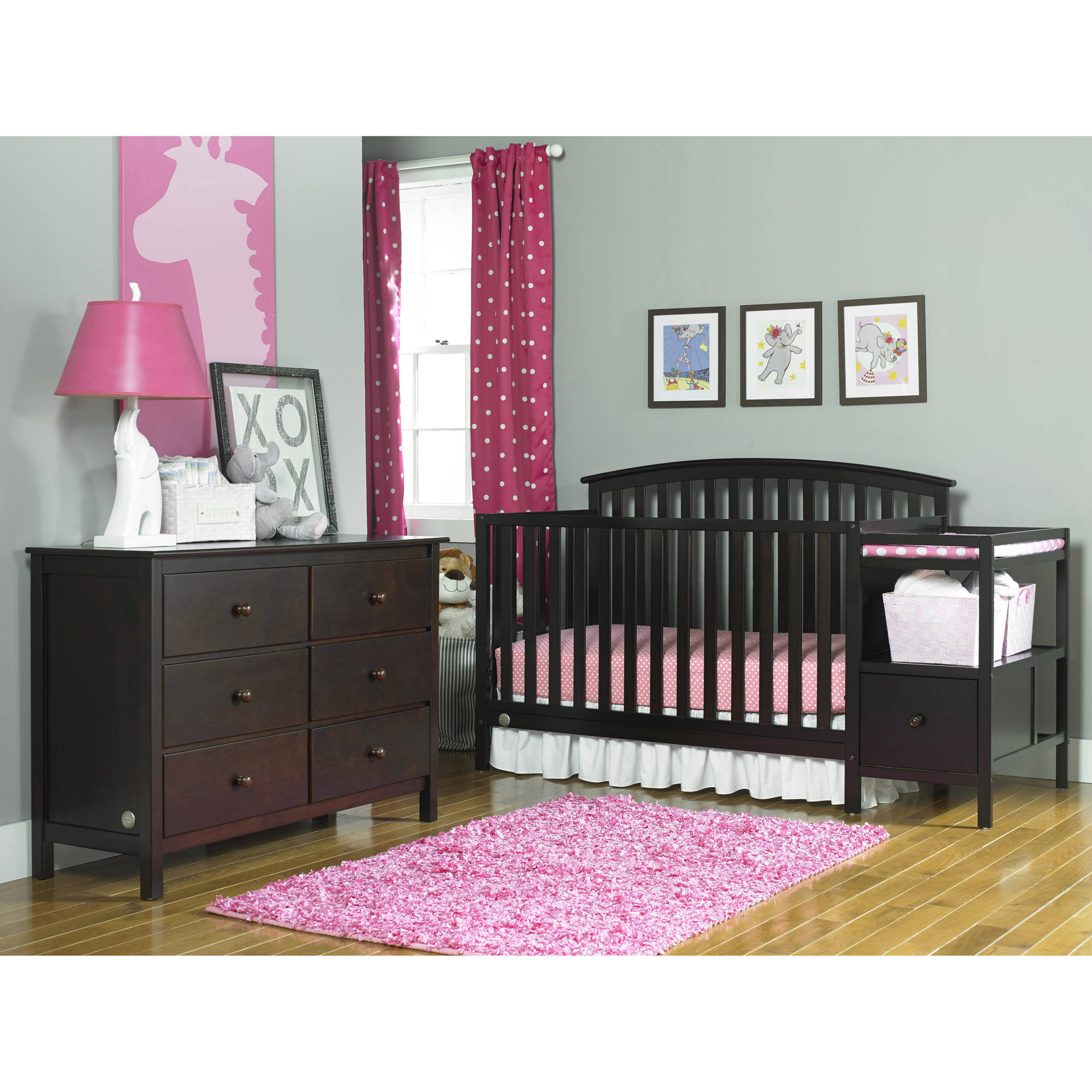 Fisher-Price Huntington Crib n Changer,(Choose Your Finish)
