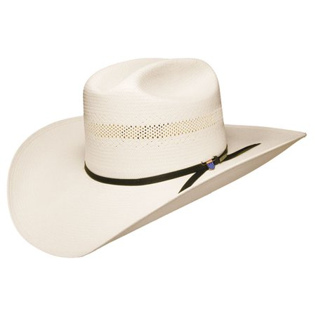 Resistol Mens 10X USTRC Big Money Straw Cowboy Hat