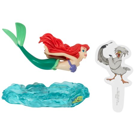 SPECIAL ORDER CAKE DECORATION - LITTLE MERMAID-ARIEL & SCUTTLE