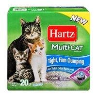 Hartz Multi-Cat Cat Litter Fresh Scent 20 Lb, 20.0 Lb