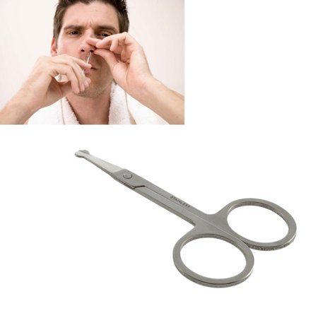 how to cut nose hair