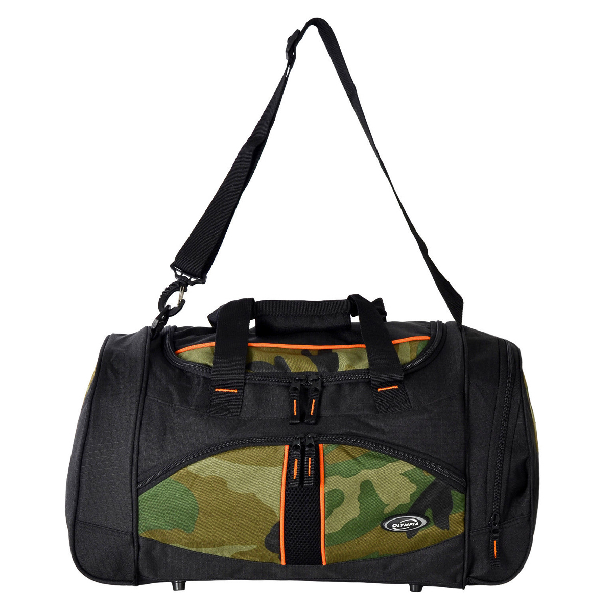 Olympia Heavy Duty Nomad Camouflage 25 Sports Duffle Duffel Tote Bag Travel Gym by