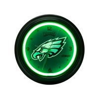FOCO - NFL LED Clock, Philadelphia Eagles
