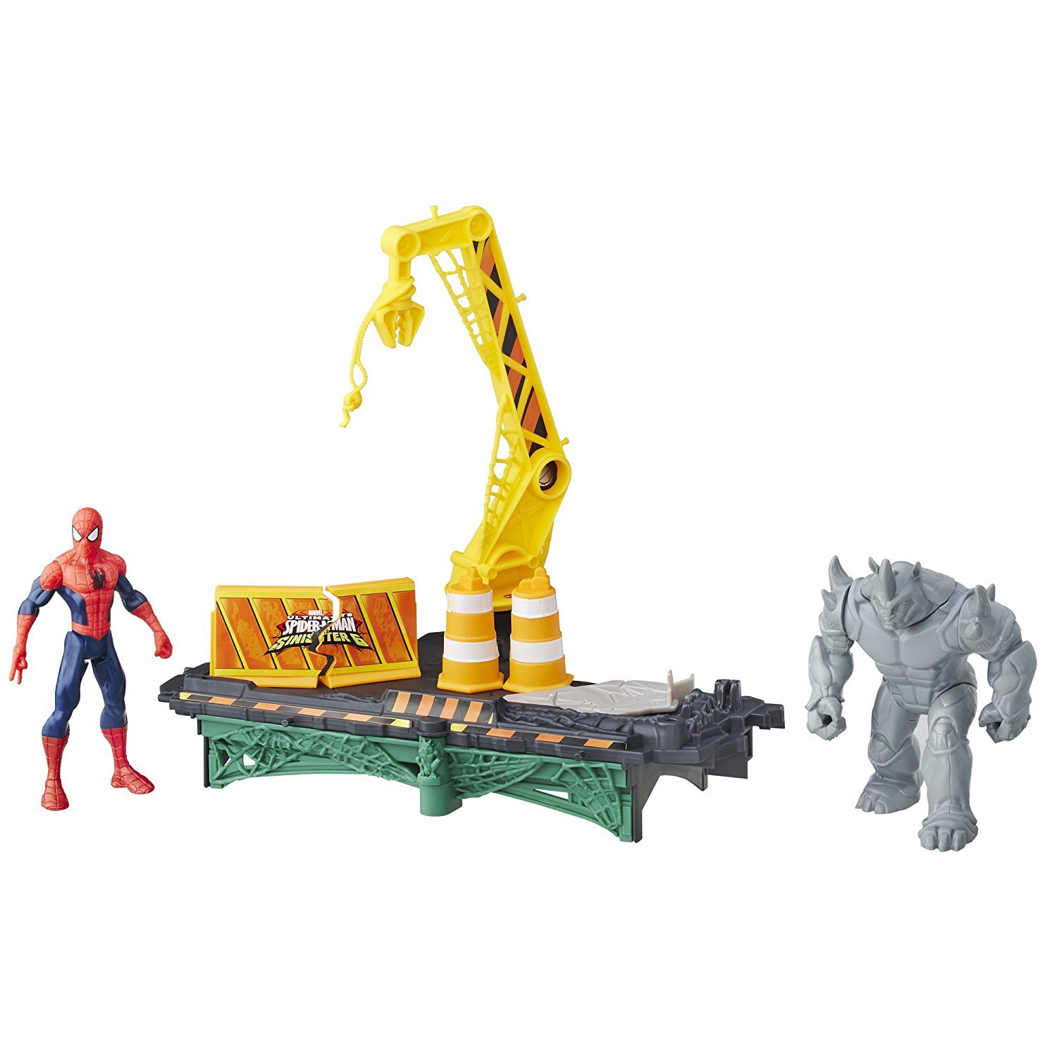 Marvel Spider-Man Rhino Rampage Play Set - Walmart.com