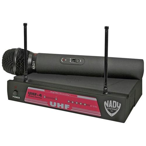 Nady Uhf-4 Channel 11 Digitru Diversity Wireless Microphone System (6014-02)