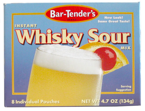 Whiskey Sour Bar-Tenders Instant Cocktail Mix by