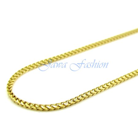 Hip Hop Mens 14K Yellow Gold Finish 5MM 1 Row White Lab Diamond Chocker Tennis Link Chain 18 to 24 Inches - 18 Inches