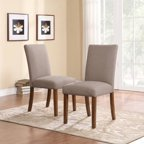 Clairborne Tufted Dining Chair Set Of 2 Walmart Com