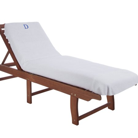 Wondrous Superior Super Soft 100 Premium Cotton Terry Splendid White Standard Size Letter Monogrammed Towel Pool Lounge Chair Cover Ocoug Best Dining Table And Chair Ideas Images Ocougorg