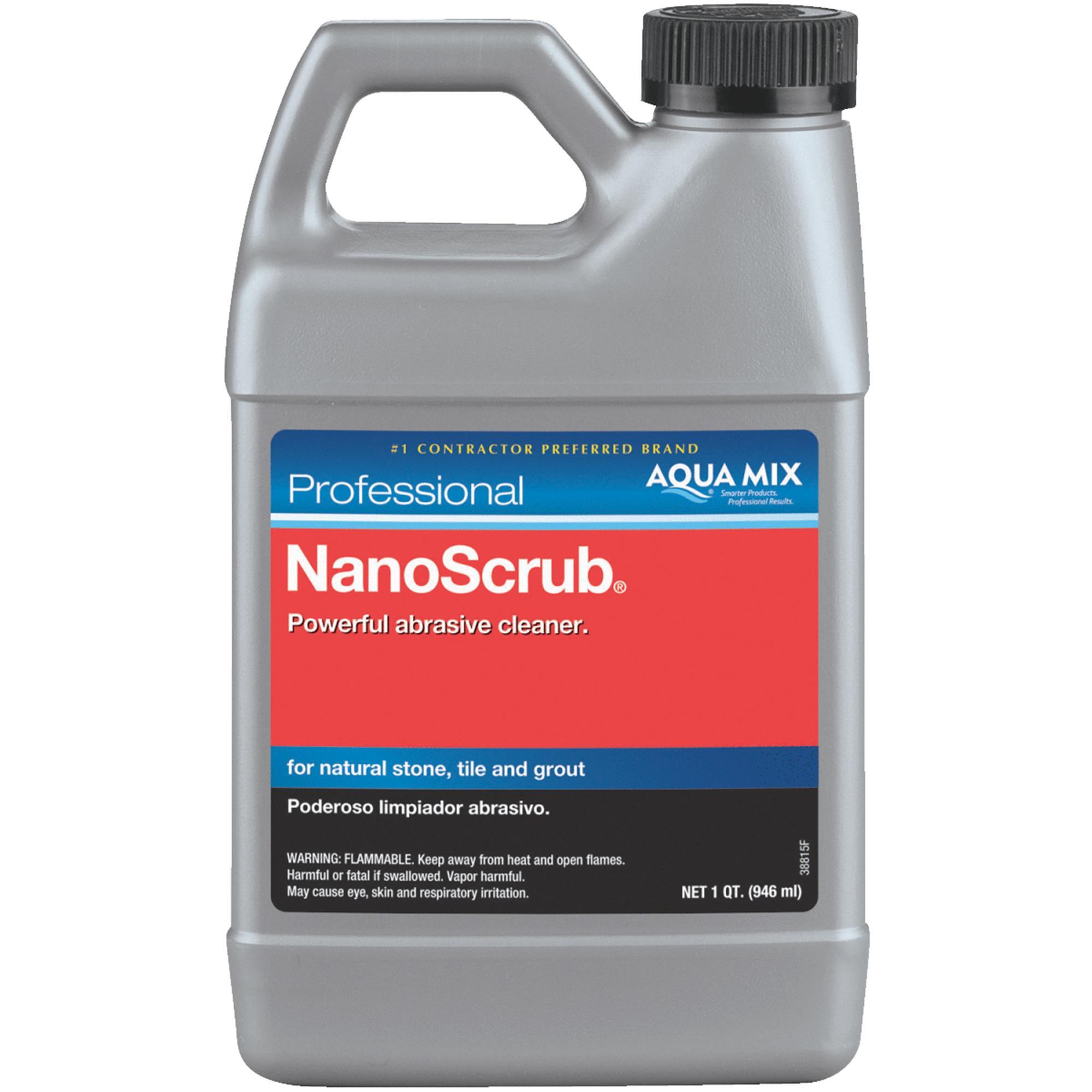 NanoScrub Stone, Tile, & Grout Cleaner