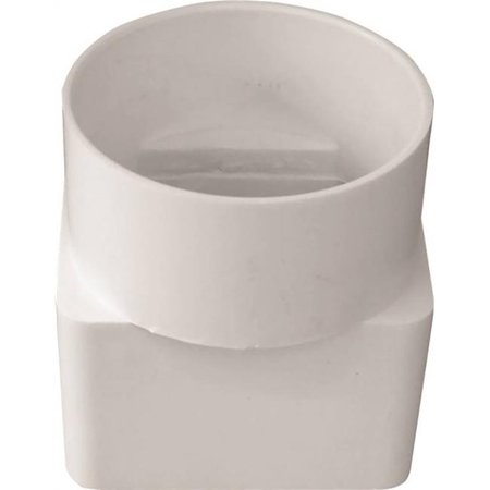 Spout Adapter - 2 x 3 x 3 Adapter Downspout Pvc
