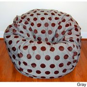 Delightful Dots 36-inch Washable Bean Bag Chair tan