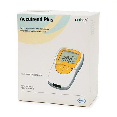 Accutrend Plus Blood Cholesterol And Glucose Monitor Kit - 1 Ea