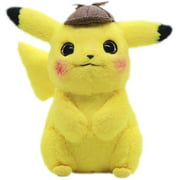 Plush toy 28cm pikachu plush toy stuffed toys detective pikachu japan movie anime toys for children doll for child baby birthday gifts anime