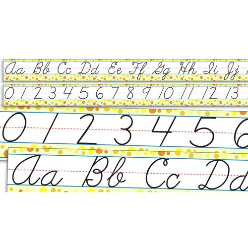 Teachers Friend Standard Cursive Letters and Numbers