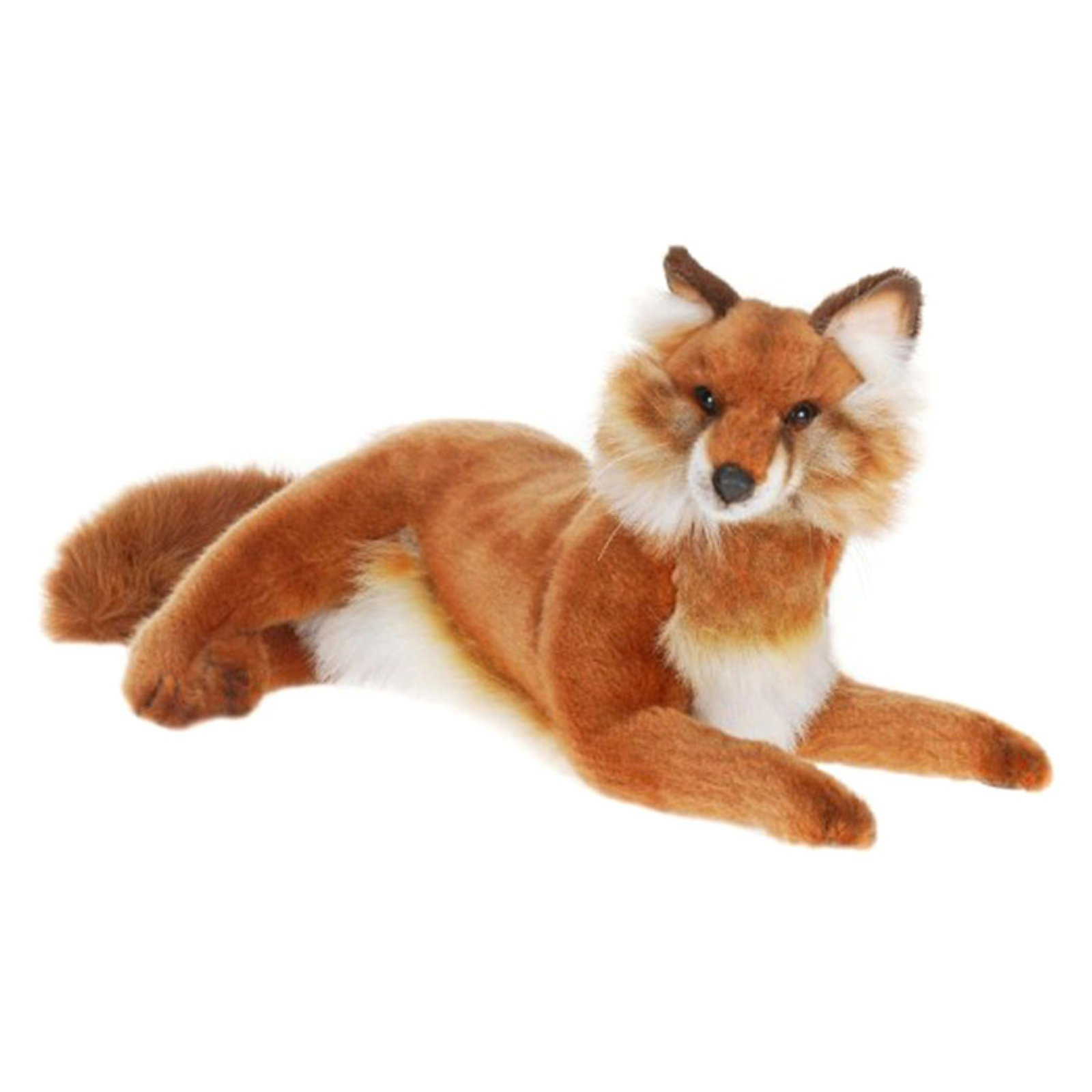 Hansa Lying Red Fox Plush Toy