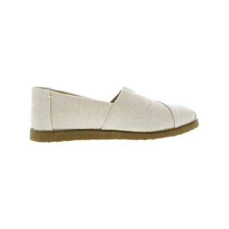 dc14edbbab5 Toms Women s Alpargata Crepe Heritage Canvas Natural Ankle-High Slip-On  Shoes - 8M ...