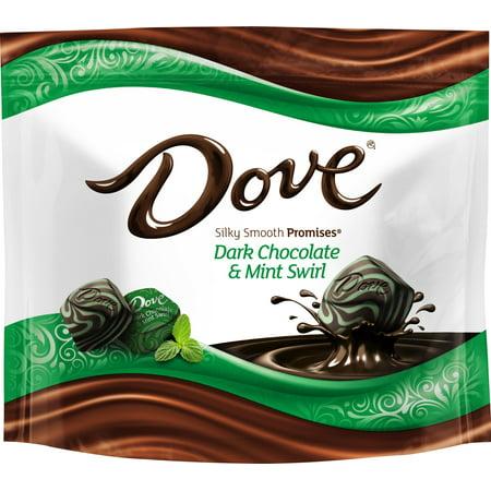 Dove Promises Dark Chocolate & Mint Swirl Candies - 7.6oz