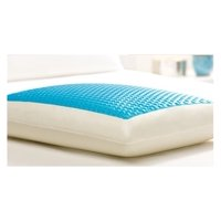 Comfort Revolution CERULEAN BUBBLES Hydraluxe Cooling Gel Bed Pillow (Standard)