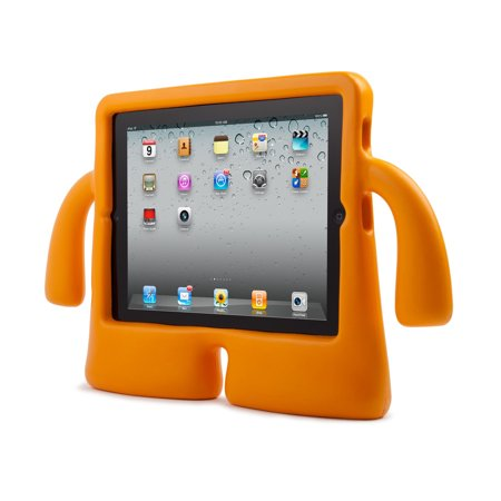 Ipod Carrying Case (Speck Products iGuy Carrying Case for iPad - Mango - Ethylene Vinyl Acetate (EVA) )