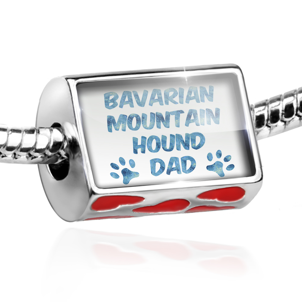 Bead Dog & Cat Dad Bavarian Mountain Hound Charm Fits All European Bracelets