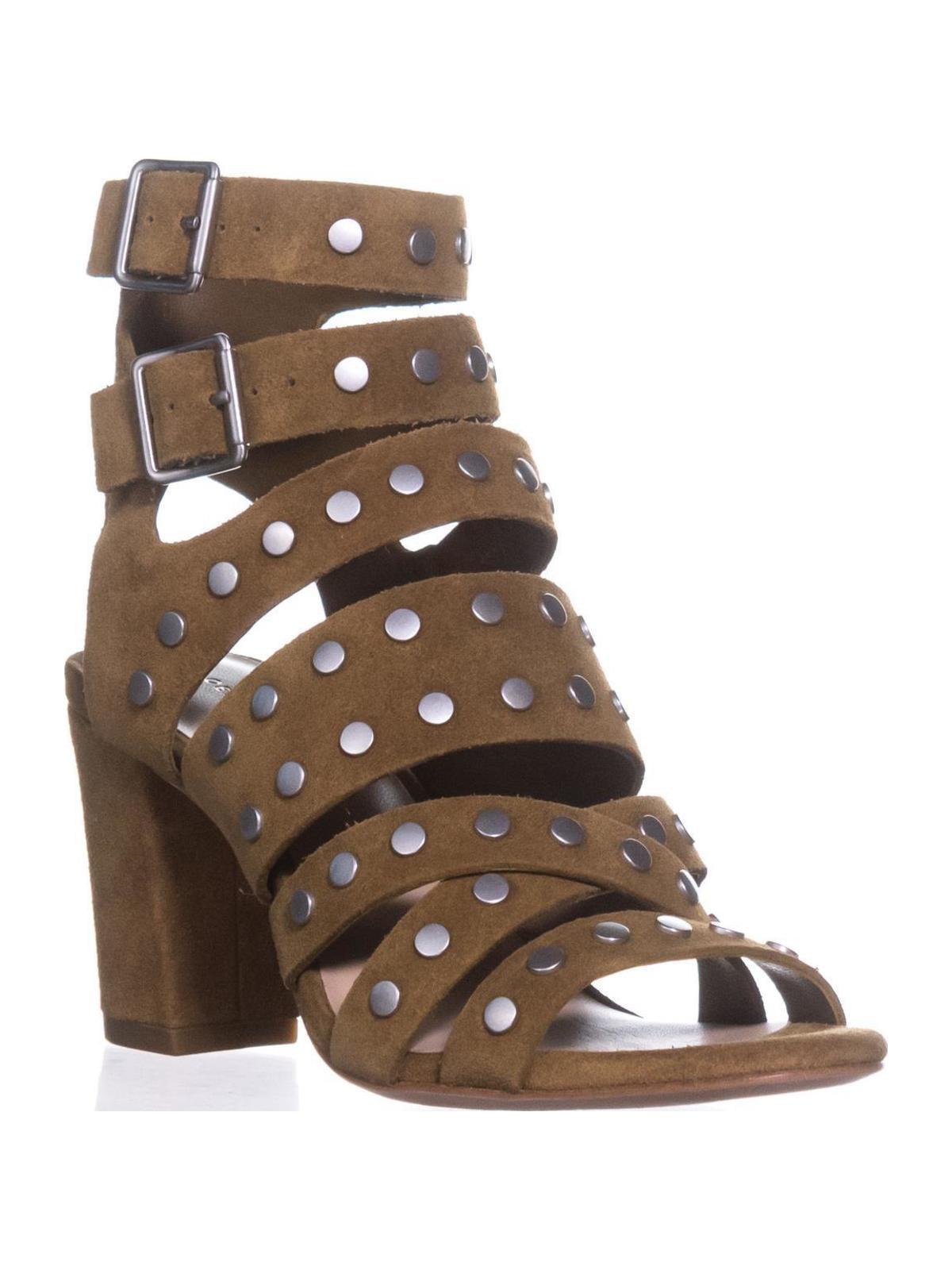 Womens Loeffler Randall Galia Gladiator US Sandals, Sienna/Silver, 5.5 US Gladiator a6d12c