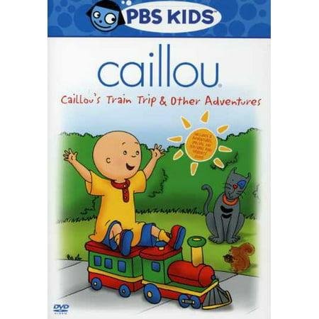 Caillou: Caillou's Train Trip & Other Adventures