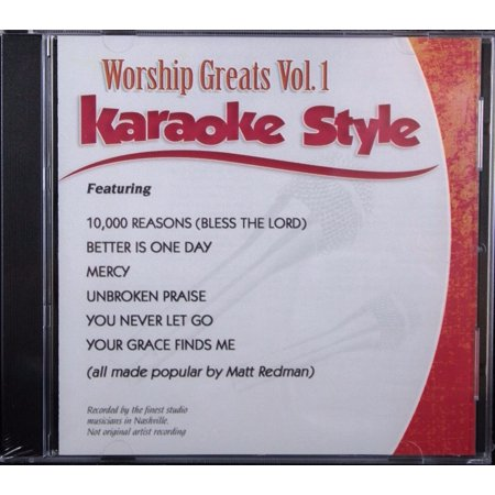 Worship Greats Volume 1 Daywind Christian Karaoke Style NEW CD+G 6 Songs - Great Halloween Karaoke Songs