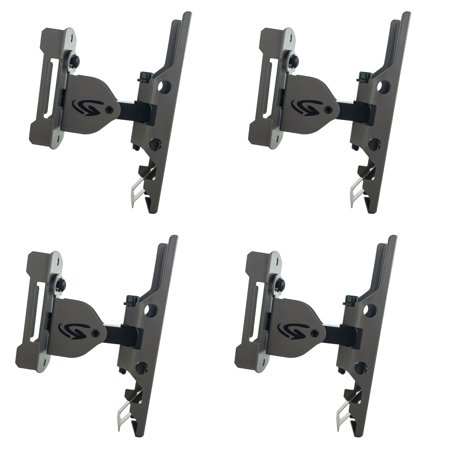 Genius Game Trail Hunting Camera Metal Universal Genius Pan-Tilt Mount (4 Pack) (Game Camera Mount)