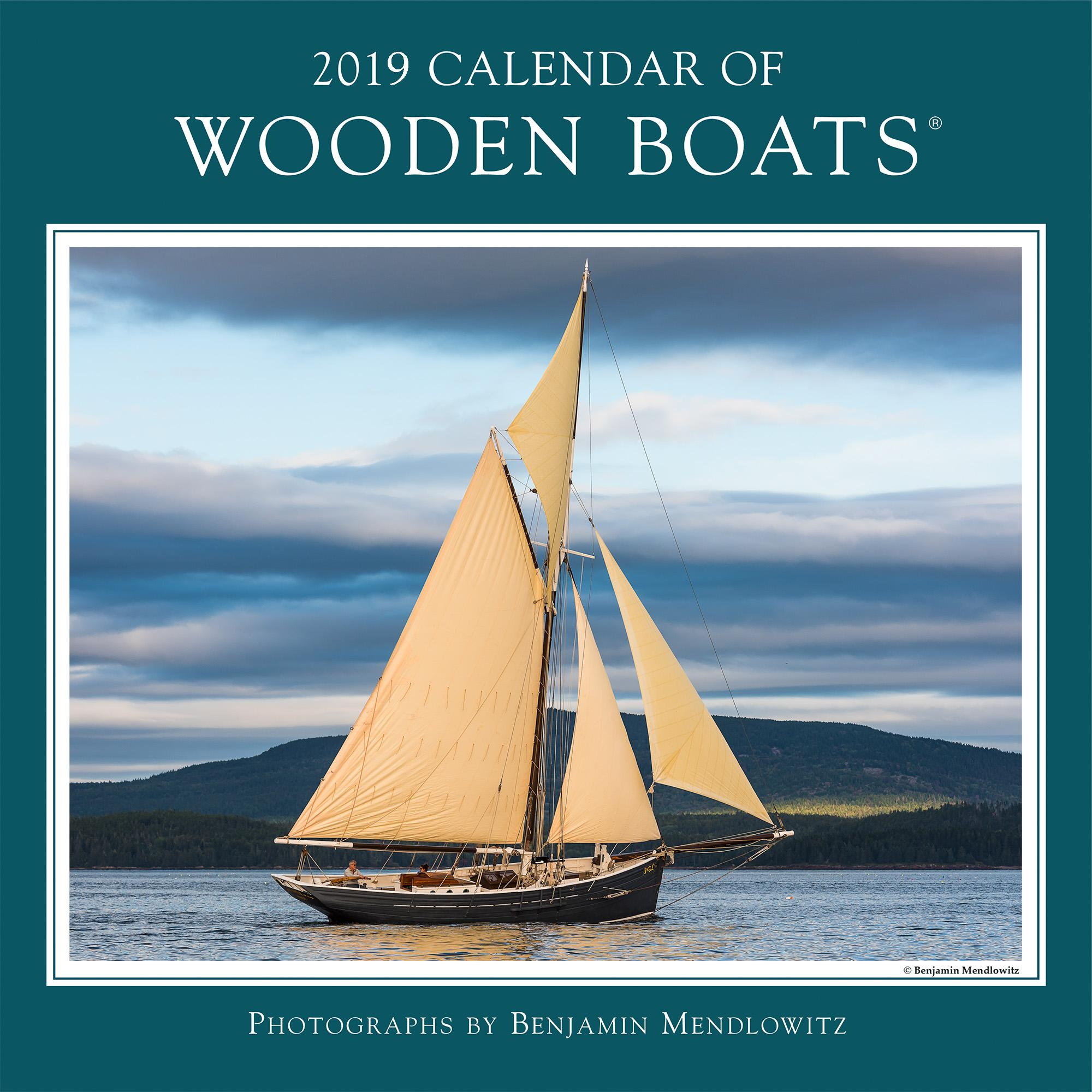 2019 Calendar of Wooden Boats (Other)