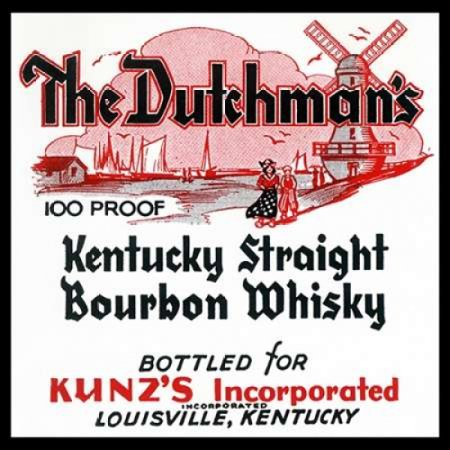 The Dutchmans Kentucky Straight Bourbon Whiskey Poster Print by Vintage Booze (Kentucky Straight Bourbon Whiskey Bottle)