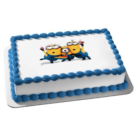 Despicable Me 3 Hula Party Kit Sheet Cake Walmart Com Walmart Com