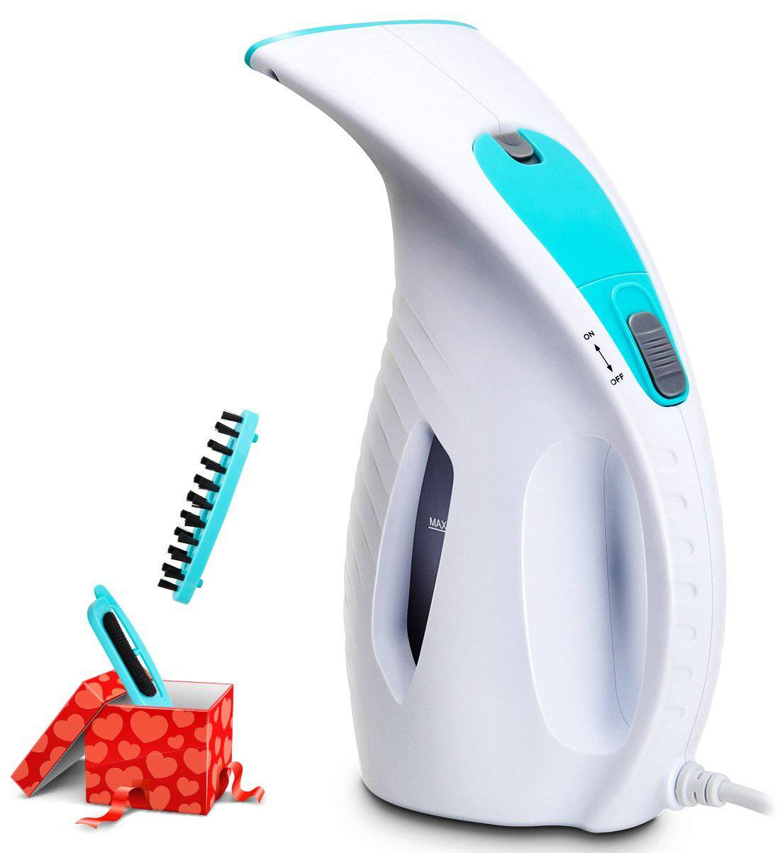 Click here to buy 180ml Portable Garment Steamer 800W Powerful Clothes Steamer Fabric Steamer.