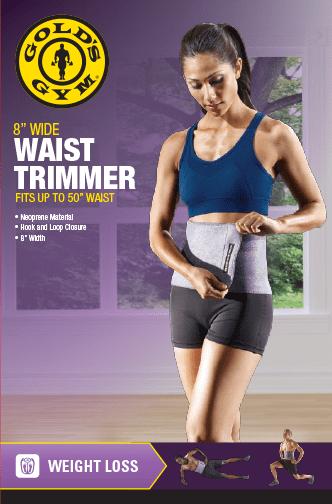 "Gold's Gym 8"" Wide Waist Trimmer - Walmart.com - Walmart.com"