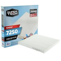 SuperTech Cabin Air Filter 7250, Replacement Air/Dust Filter for Toyota