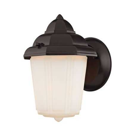 1 Light Outdoor Wall Sconce In Oil Rubbed Bronze - image 1 of 1