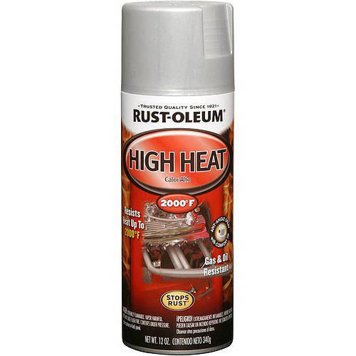 Rust-Oleum High Heat Flat Spray Paint