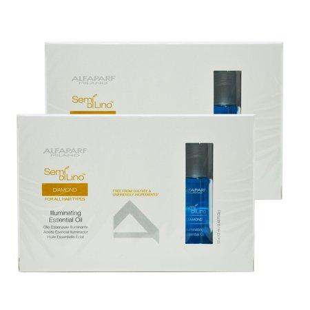 "Alfaparf Diamond Illuminating Essential Oil 0.43-ounce Vials (Set of 12) ""Pack of 2"""