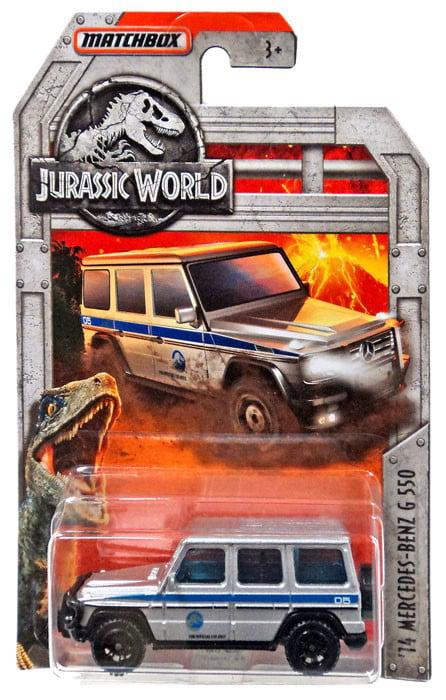 Jurassic World Matchbox '14 Mercedes-Benz G550 Diecast Car by